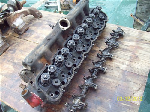 Part Top Cylinder Ford 221
