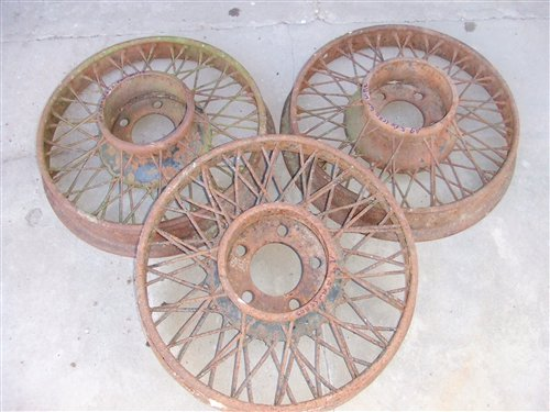 Part Old Tires