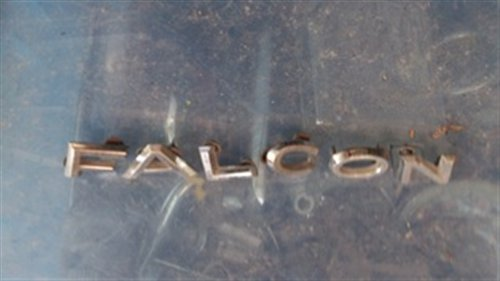 Part Logo Letters Trunk