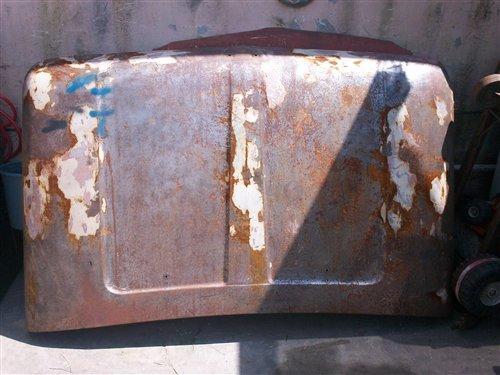 Part Bonnet Ford 1966