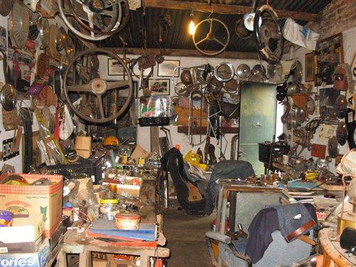 Part Lot Vintage Cars Spare Parts