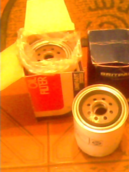 Part English Oil Filters