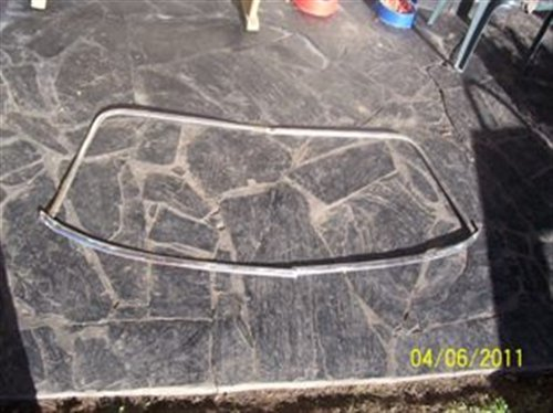 Part Bagueta Windshield Coupe Chevy