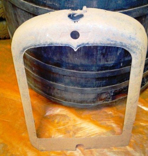 Part Radiator Mask Chevrolet