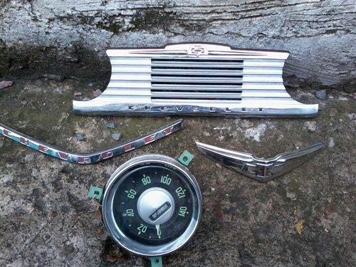 Repuesto Insignias Tablero Relojes Antiguos Chevrolet