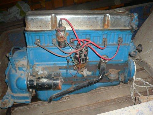 Repuesto Motor Chevrolet 235 1957