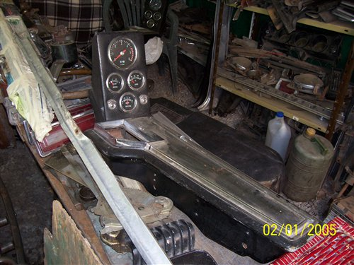 Part Chevrolet 400 Ss Console