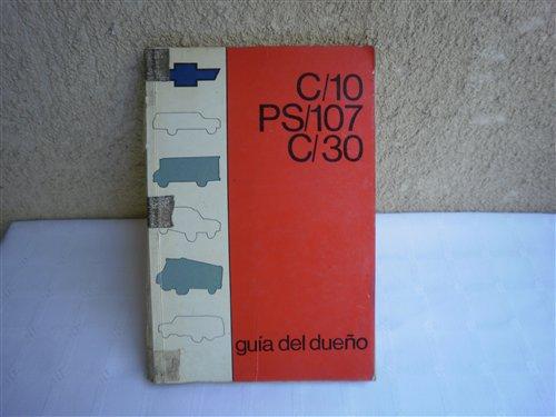 Repuesto Manual Chevrolet C/10 C/30 PS 107