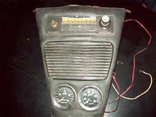 Repuesto Consola Radio AM Mustangi