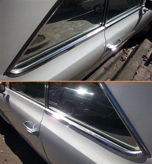 Part Upper Door Moldings Torino Coupe