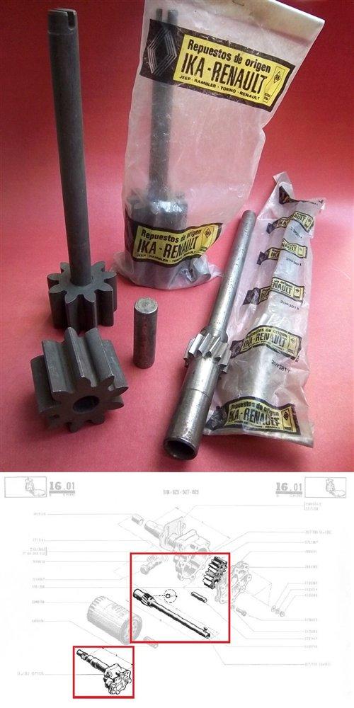Part Repair Pump Oil Engines Torino 4 7 Beds