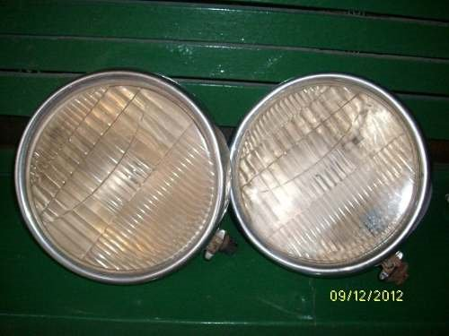Part Glass Headlights Ford A Game