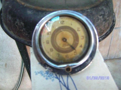 Part 1937 Ford Glove Box Clock