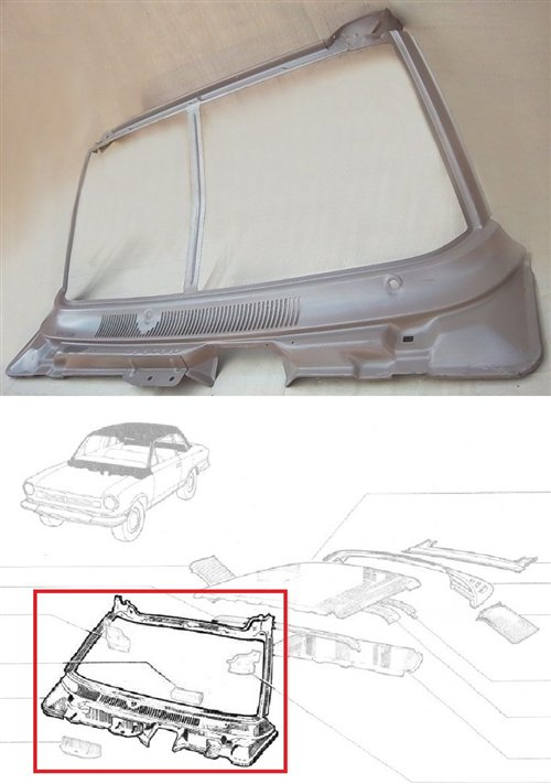 Part Windshield Frame Torino Zx Coup�