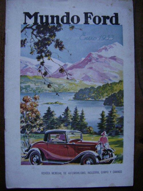 Part Magazine World Ford January 1933