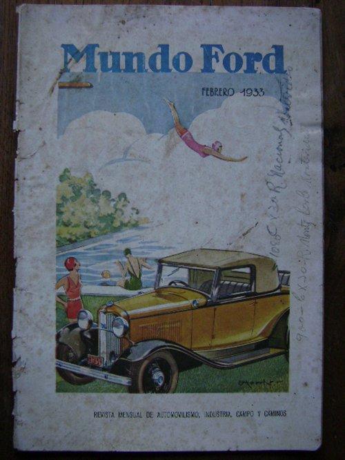 Part Magazine World Ford February 1933.