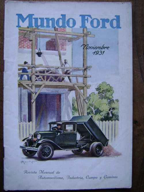 Part Magazine World Ford November 1931