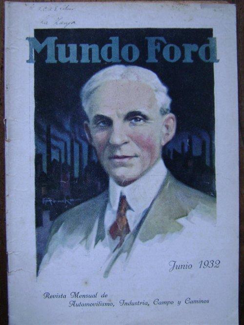 Part Magazine World Ford June 1932