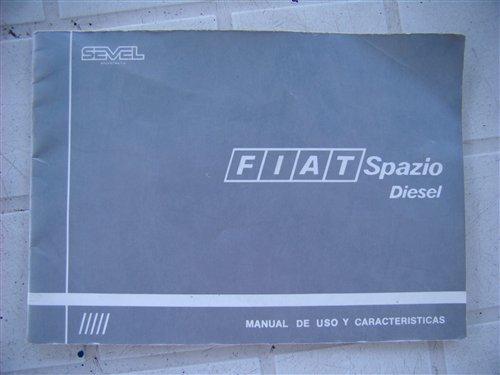 Repuesto Manual Uso Características Fiat Spazio