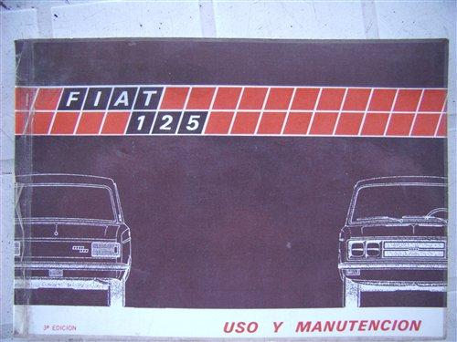Part Use Manual Materials Handling Fiat 125