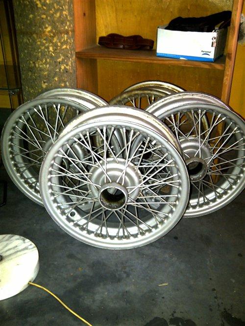 Part Wheels Rudge Triumph Tr3