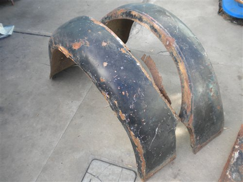 Part A 1928 Ford Fender