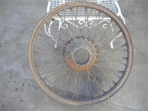 Part Buffalo Wheel