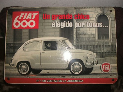 Part Box Fiat 600