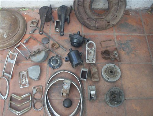 Part Lot Accessories Ford V8