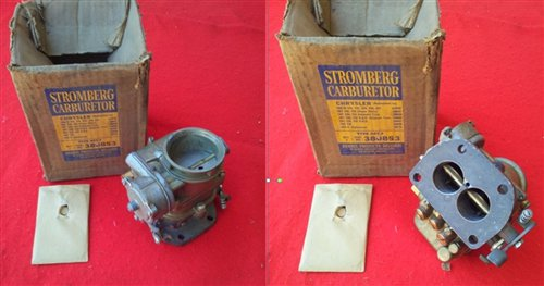 Part Chrysler Carburetor