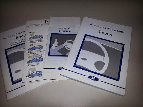 Part Car Manual Ford Focus 2001