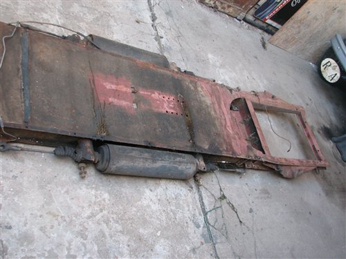 Part Chassis Citroën 3cv
