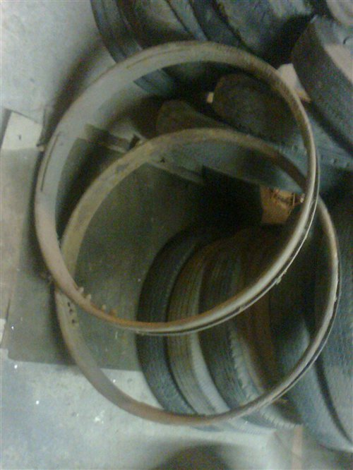 Part Old Rims Hoops