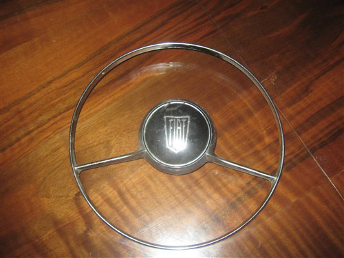 Part Center Steering Wheel Fiat 600