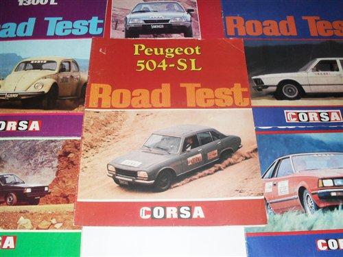 Repuesto Road Test  Peugeot 504 SL
