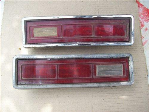 Part Rear Lights Chevy Coupé