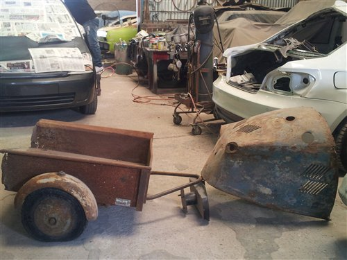 Part Messerschmitt Bambi Trailer Iseta Heinkel