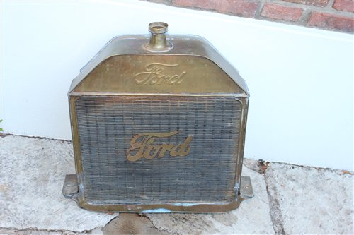 Part Radiator Ford T 1914