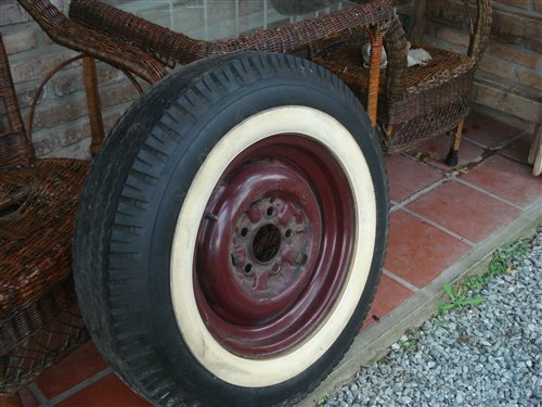 Part F100 6.50/16 Wheels