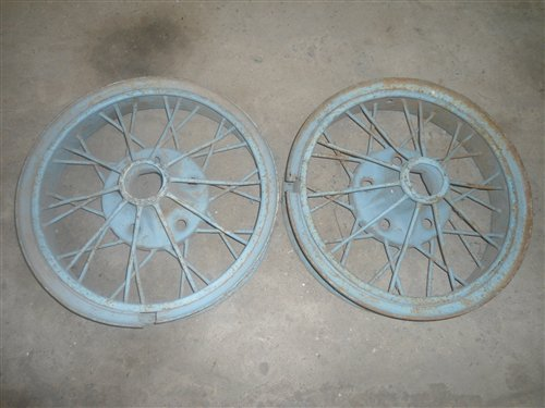 Part Ford Truck Wheels Rolled 20