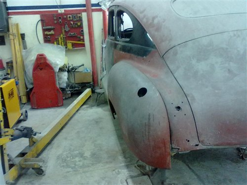Part Rear Fenders Plymouth 1946 / 1948