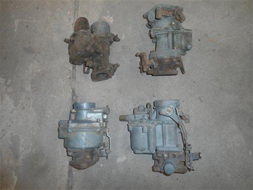 Part Descending Old Carburetors