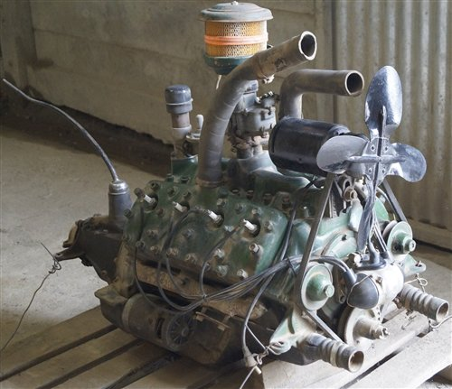 Part Engine Ford V8