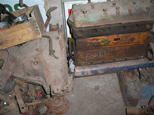 Part Engine Ford T Full