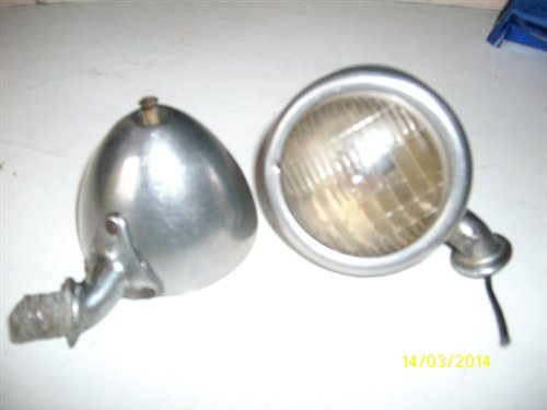 Part Position Ford 1934 Headlights