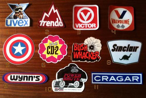Part Calco Estilo Antiguo Sticker Vintage Buena Calidad