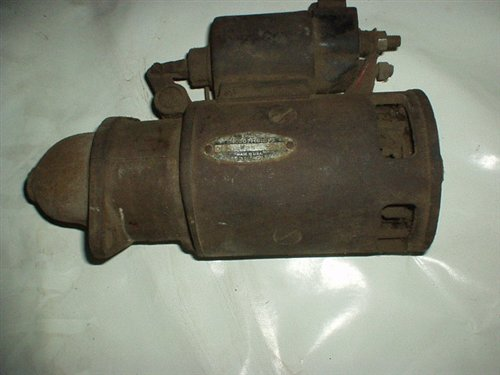 Part Engine Starter Chevrolet 1948