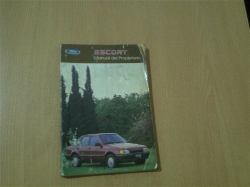 Part Ford Escort Manual