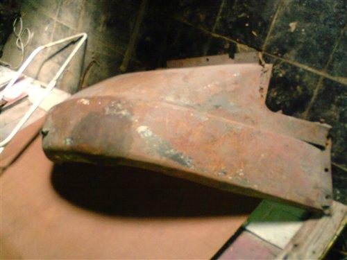 Part Fender Whippet D