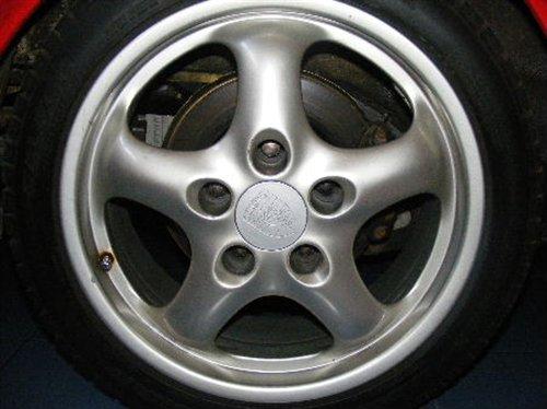 Part Rims 17 '' Porsche